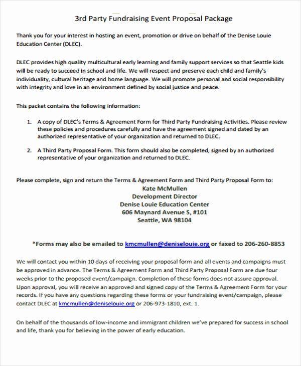 Fundraising Plan Template Free Elegant 11 Fundraising Event