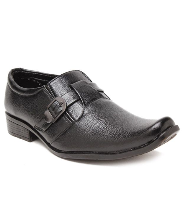 Foot 'n' Style Textured Black  Slip-on Shoes, http://www.snapdeal.com/product/foot-n-style-textured-black/1286244614