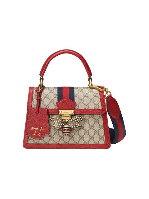 043f574d2d7 Gucci Queen Margaret GG Small Top Handle Bag in 2019