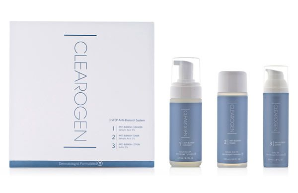 The new Clearogen Anti-Blemish Kit is now available at Effortless Skin. Use all three steps once a day to achieve clear, calm skin for life.