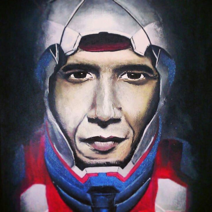 Iron-Man and Obama