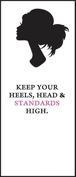 keep it high.