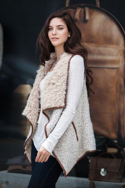 Fur Ever Great Vest - Vanilla