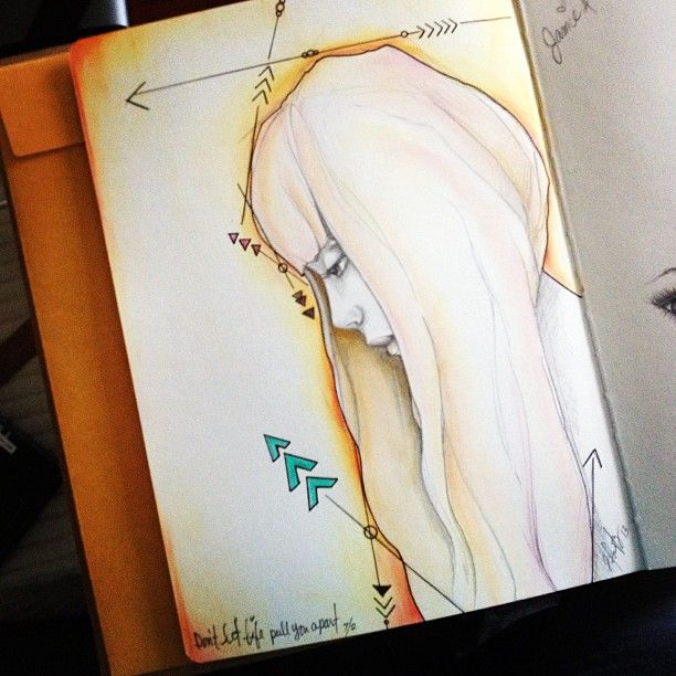 Art Journal entry Jamie Dougherty