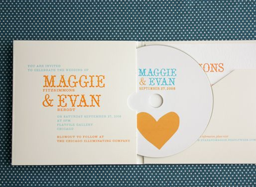 Wedding Invitations Cd