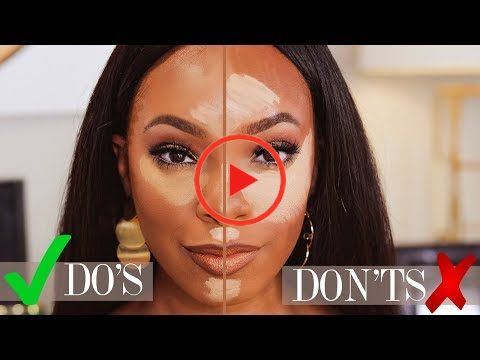 makeup for beginners highlight  contour do's and don'ts