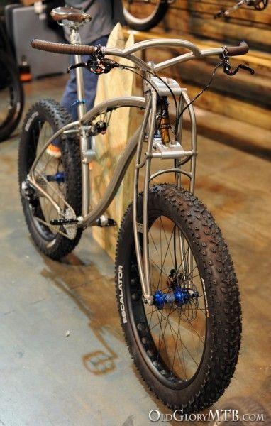 Black Sheep Titanium Full Suspension Fat Bike #fatbike #bicycle #fat-bike