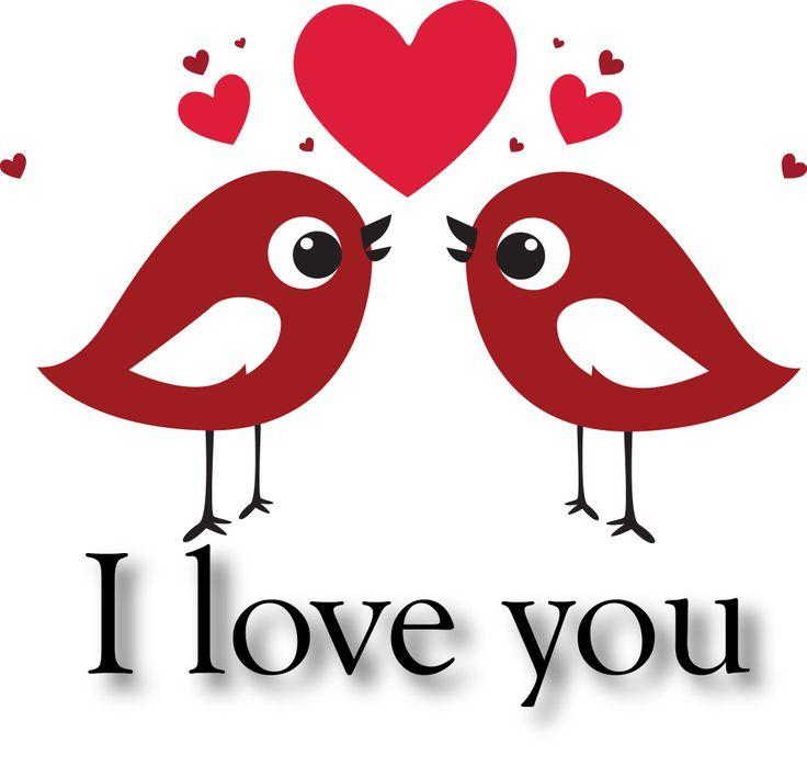 Dibuix birds in love