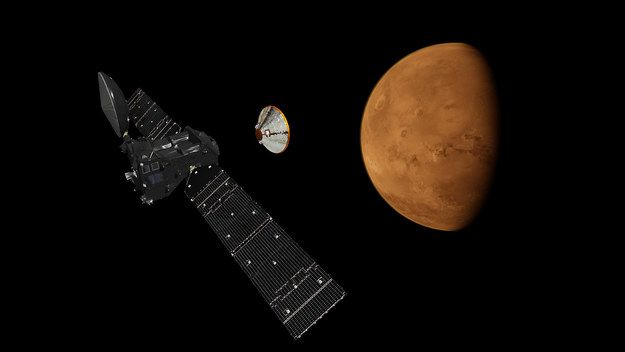 On Wednesday, if all goes to plan, a joint European and Russian Mars mission called ExoMars will reach two important milestones. Here is what you need to know. | What You Need To Know About The ExoMars Mission