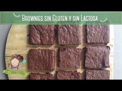 Cómo preparar brownies sin gluten y sin lactosa con sólo 6 ingredientes - LA ESPÁTULA VERDE