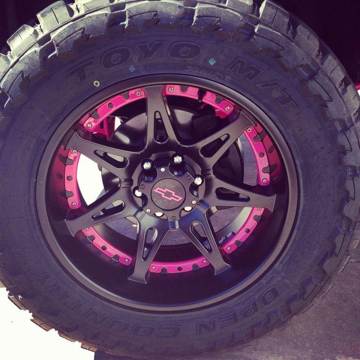 My rims on my truck