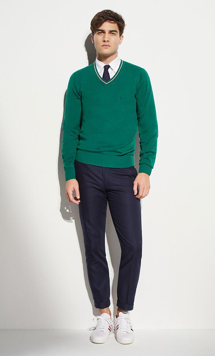 Color Coordination Clothes Men 45