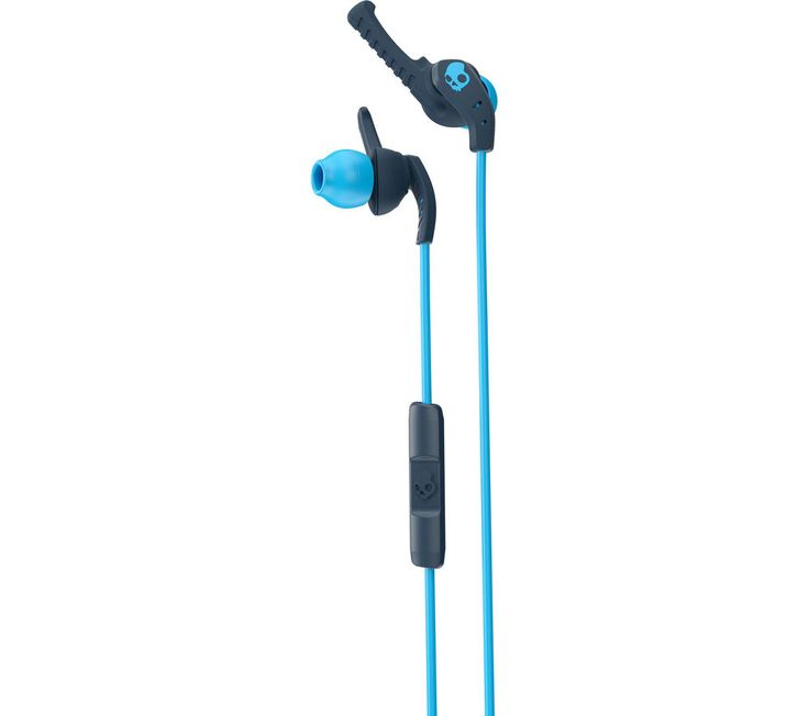 SKULLCANDY  XTplyo S2WIJX-477 Headphones - Navy & Blue, Navy Price: £ 39.99 Extra-secure and generating high-quality sound, Skullcandy XTplyo S2WIJX-477 Headphones are a great way to stay driven during your workout. Sweatproof Exercise with confidence - the XTplyo Headphones are sealed to withstand sweat and moisture, helping them last for longer. The earbuds can be cleaned, so you'll always...