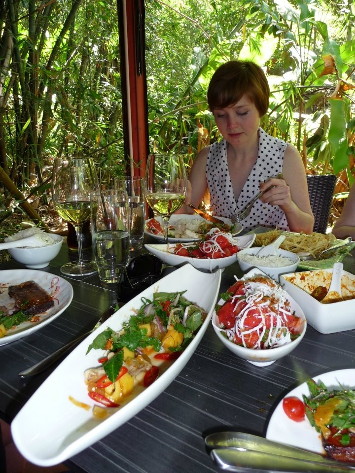 The 'Spirit House', just 15 mins out of Noosa makes for the most delightful long lunch imaginable