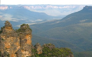 A view of the Blue Mountains, where the North Face 100 takes place. Fox Creek are a proud sponsor of the 2013 TNF100 | www.foxcreekwines.com
