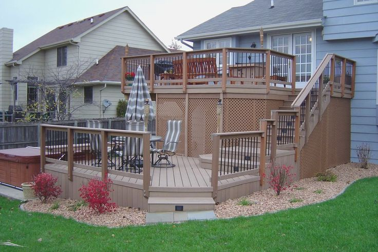 Multi Level Deck Designs Multi Level Deck Ideas Shapwee