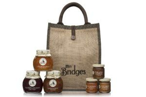 Mrs Bridges Savoury Hamper Bag - The savoury version of Mrs Bridges hamper bag, available year round and suitable for a number of gifting occasions.