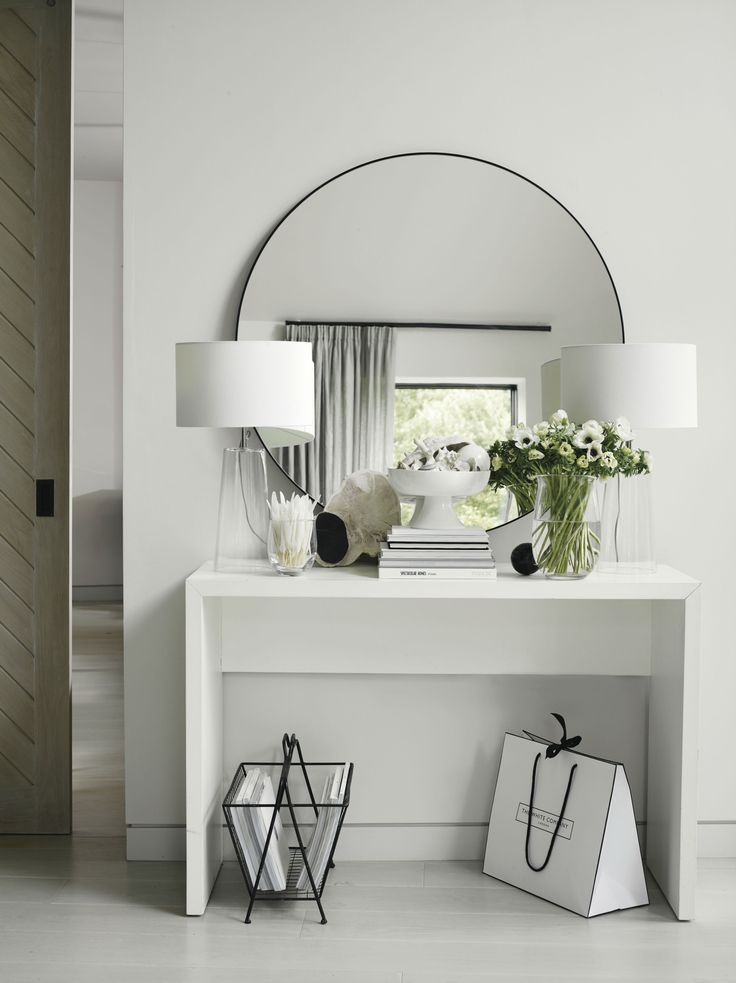 Chiltern Thin Metal Round Mirror – #Chilters # Household & Kitchen # Household & Kitchen
