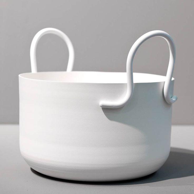 Tivoli Kruka H17cm Ø27cm, Vit, SMD Design