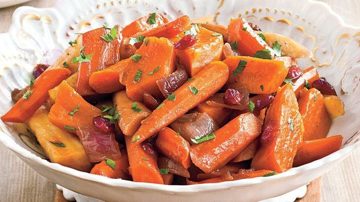 Using a slow cooker is the secret to an easy side dish! Try this recipe for sweet-tangy balsamic glazed root vegetables like carrots, parsnips and sweet potatoes.