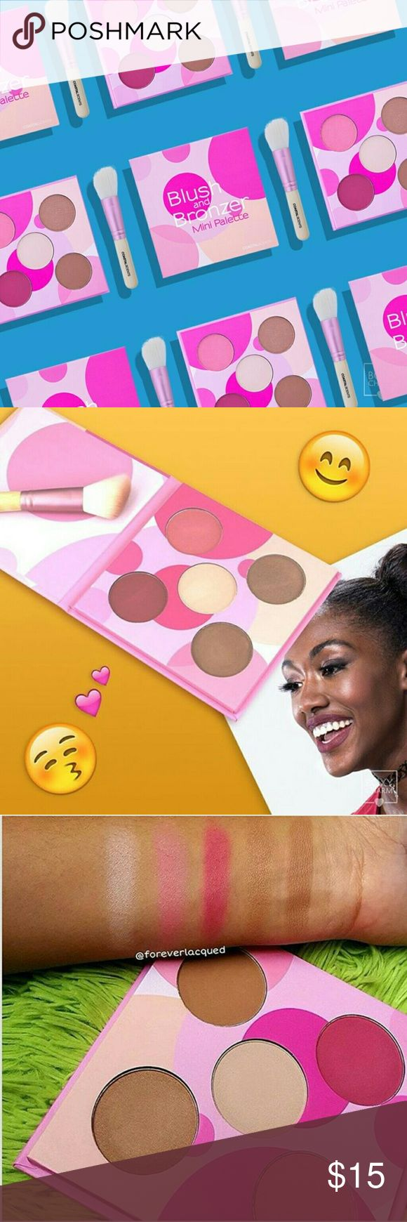 Mini Palette & Brush Combo Bronzer and Blush Mini Palette  Easy on the go! Mix and match combinations! Contouring, Bronzing & Blush Coastal Scents Makeup Bronzer