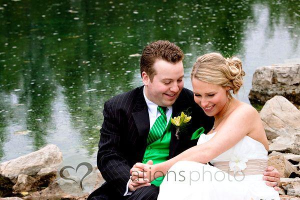 Creationsphoto wedding, bride and groom, devonian botanic garden