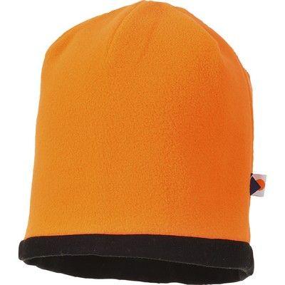 Gorro reversible alta visibilidad Beanie Naranja A.V.
