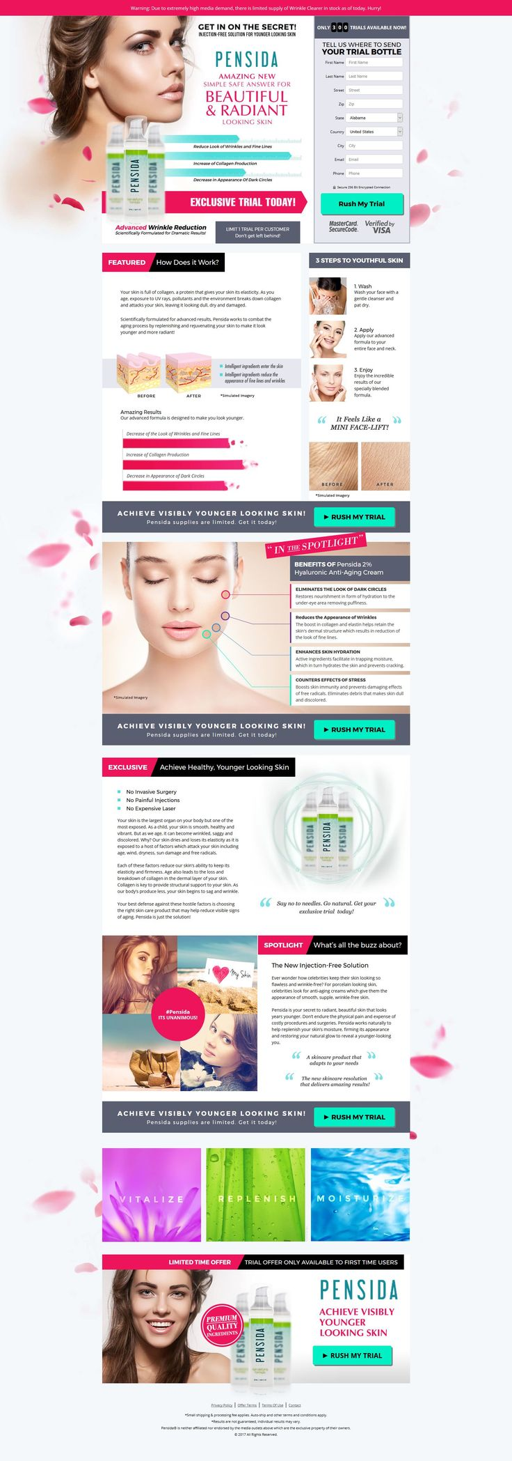 Beverly hill md lift and firming reviews - The Pensida Age Defying Formula Reduces The Look Of Wrinkles And Fine Lines Creases