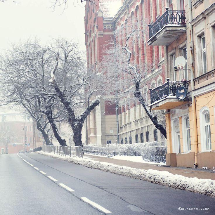 zima w mieście - Bernardyńska #Lublin