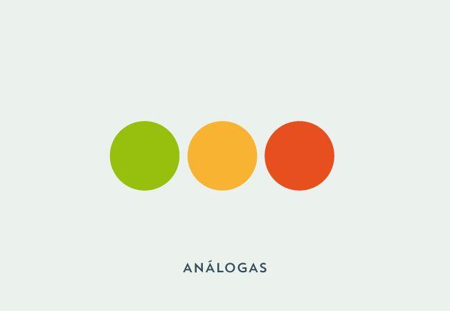 combinar colores analoga