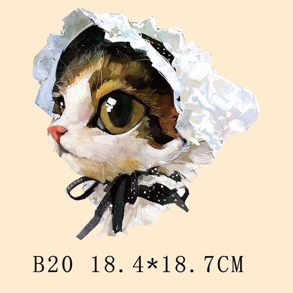 Дети милые кошки шляпа термические компенсировано тепла узор свитер пальто зимней одежды раздел DIY печати