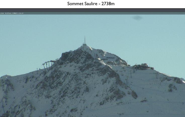 Summit of Saulire from Meribel