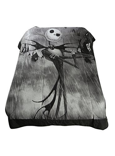 The Nightmare Before Christmas Jack Skellington Full / Queen Comforter Disney http://www.amazon.com/dp/B0113DVLX2/ref=cm_sw_r_pi_dp_7rzSwb0JY6BT9