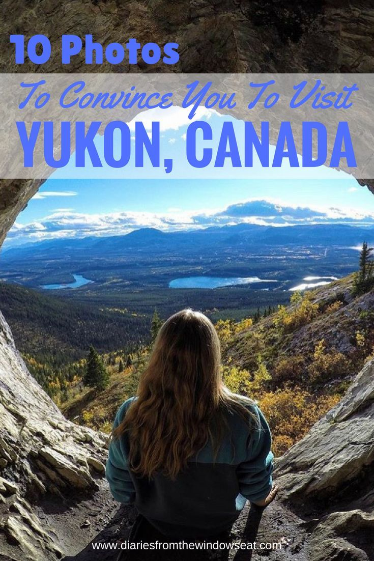 10 Photos to convince you to visit Yukon, Canada. Have you ever wanted to visit the North of Canada, but just need a little push? Read this post at www.diariesfromthewindowseat.com to learn more!