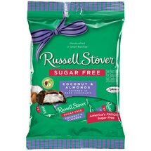 Walmart: Russell Stover Sugar Free Coconut & Almonds Covered in Dark Chocolate, 3 oz