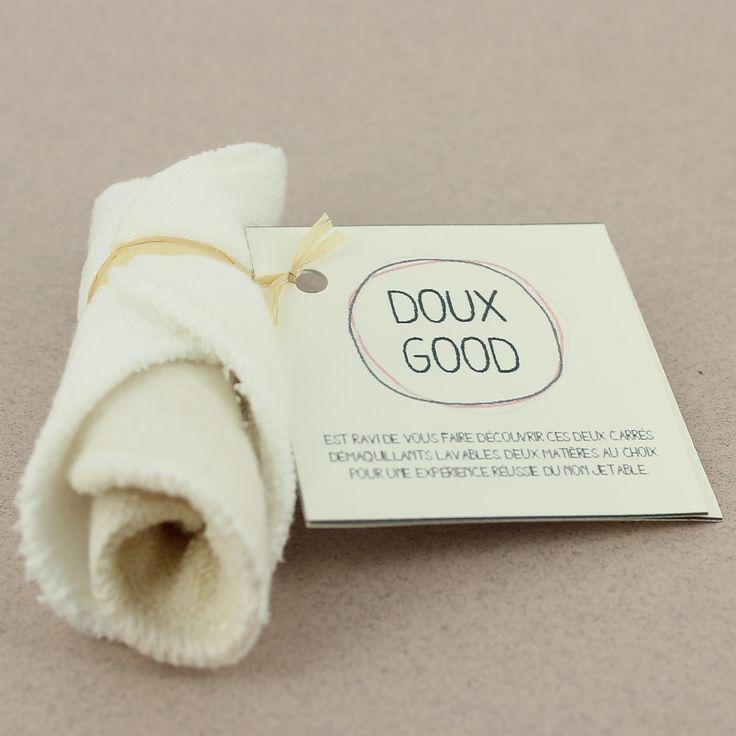 Duo découverte - carré démaquillant lavable en coton bio et Eucalyptus - Les Tendances d'Emma