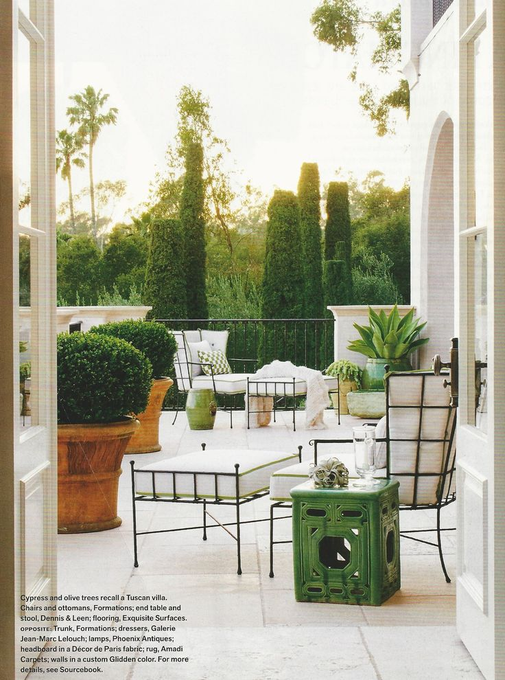 Vision for second floor patio. Like the patio planters ... on Vision Outdoor Living id=28571