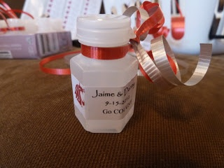 Cheap Wedding Favors Dollar Store Bubbles Print Your Own Labels And Ribbon In
