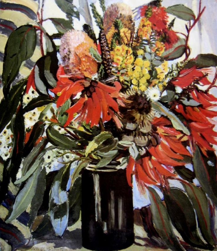 Margaret Preston, Australian Native Flowers