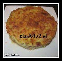 Frittata van Chinese kool - Slank4u2