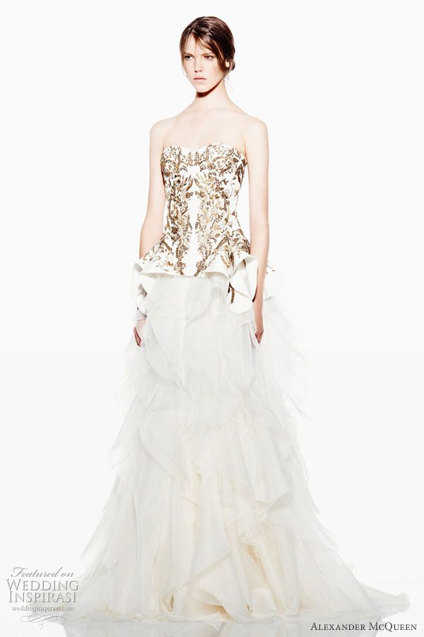 25 cute alexander mcqueen wedding dresses ideas on pinterest alexander mcqueen resort 2012 collection alexander mcqueen wedding dressesresortsmc junglespirit Image collections