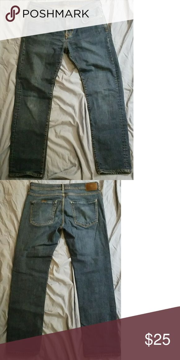 Zara Man Jeans Zara Man Jeans. Size 32, inseam measures approximately 29 inches. Great pre-owned condition. Zara Jeans