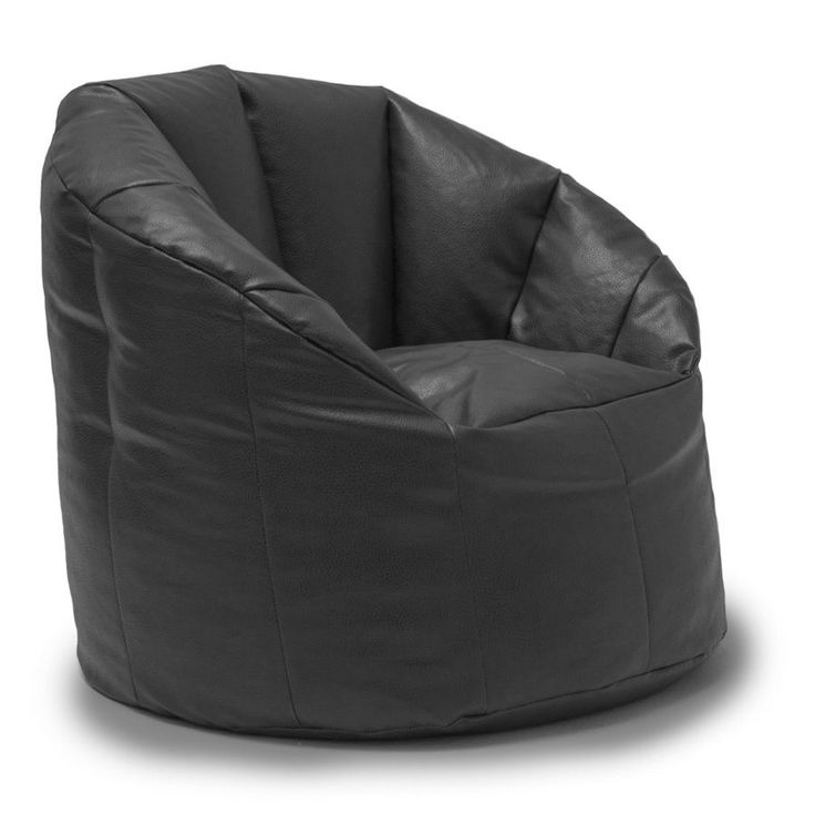 best 25+ leather bean bag chair ideas on pinterest | pouf chair