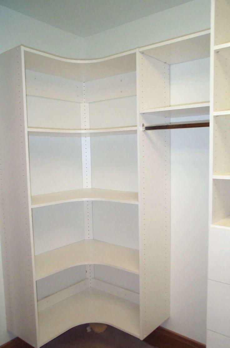 25 best ideas about small closet design on pinterest for Master bedroom walk in closet designs
