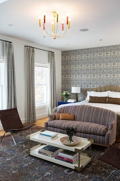 Intricate Patterns - How To Decorate With Bold Wallpaper - Photos