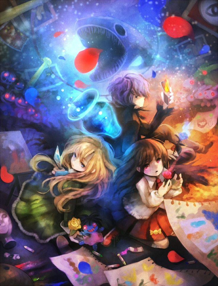 Pin de UmiChan20 em Rpg Horror games Rpg, Anime, Desenho