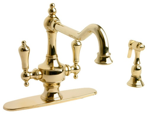 rinse giagni mount intro pre handle kitchen deck faucet fresco shop steel pd stainless
