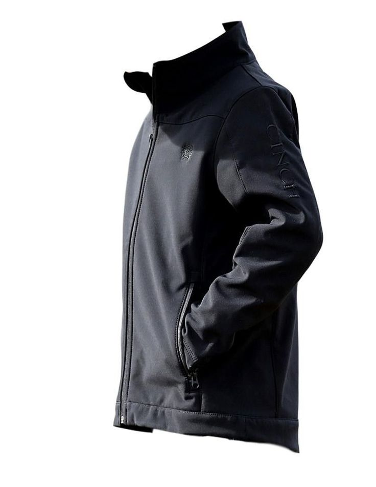 Cinch Apparel Boys WSL Boys Bonded Jacket XS Black. Boys Cinch Jacket: Boys Cinch Western Outerwear. Keep that young buckaroo warm! This boy's bonded jacket by Cinch features front zip secured pockets, a zip front and embroidered logos. Grandma Bait-Get Hooked. MWJ7480003.