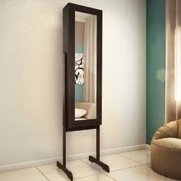 Toucador/Espelheira 1 Porta Luxo Imbuia - JB Bechara
