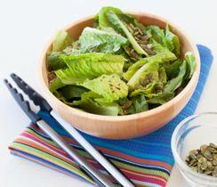 Honey-Lime Romaine & Toasted Pepitas Salad